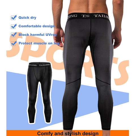 Men Shape Pants Compression Tight Slimming Bottom Shapewear