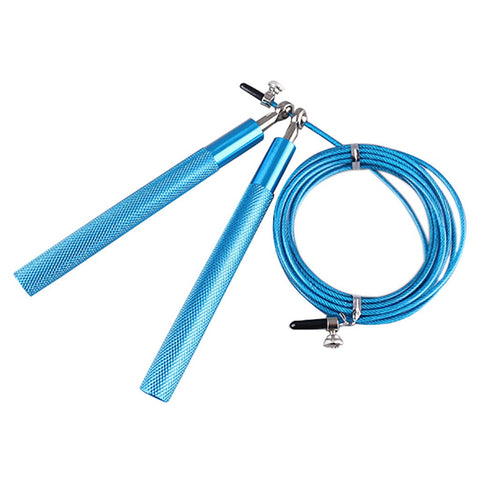 FREE TODAY!: 9.8 Foot Jump Skipping Rope Cable Steel Adjustable