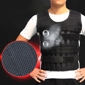 33LB/15kg Adjustable Loading Weighted Vest Fitness Clothing