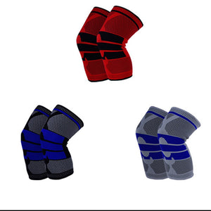 1PC Sports Pressurized Elastic Knee Pads Brace Protector