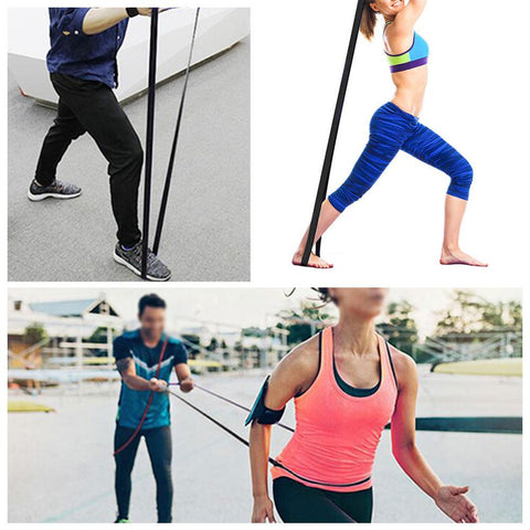 resistance band Latex training elastic band flat rubber band resistance band outdoor indoor sports equipment Rope Training