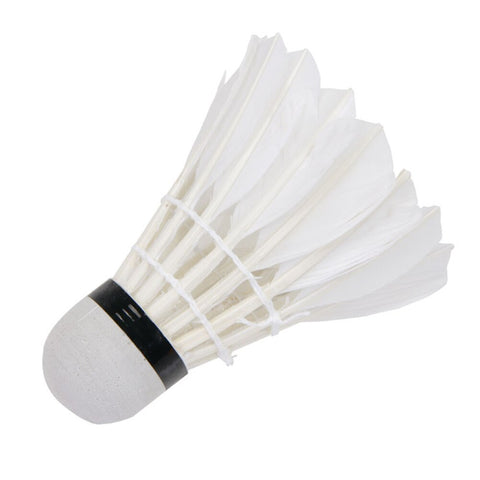 Image of 12Pcs Set High Quality Badminton Goose Feather Shuttlecocks