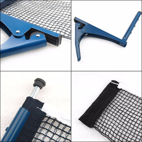 Image of Table Tennis Net Table Grid Strong Mesh Portable Net Kit Net Rack Replace Kit For Ping Pong Playing