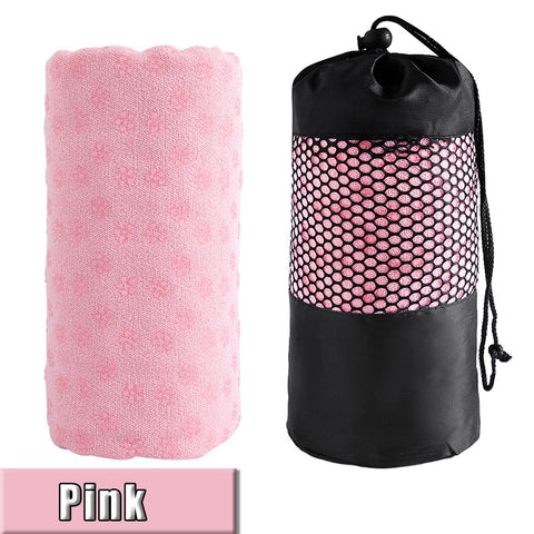 Sale Yoga Towel Non Slip Cotton Yoga Mat Microfiber Towel Blanket Sport Yoga Accessories Fitness Sweat Absorbing Towel