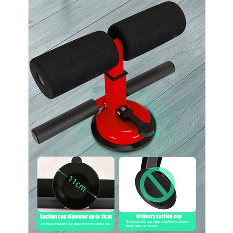 11cm Sucker Double Lever Sit-up Auxiliary Exercising Equipment