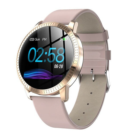 1.22-inch Large Screen Waterproof IP67 Heart Rate Blood Pressure Tracker Womens SmartWatch