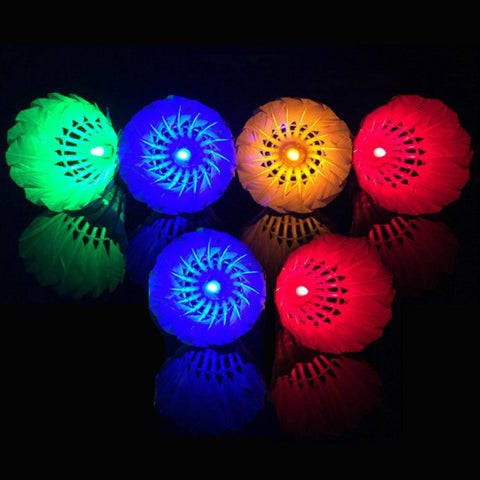 Illuminated Badminton Shuttlecock Outdoor Sports Activities
