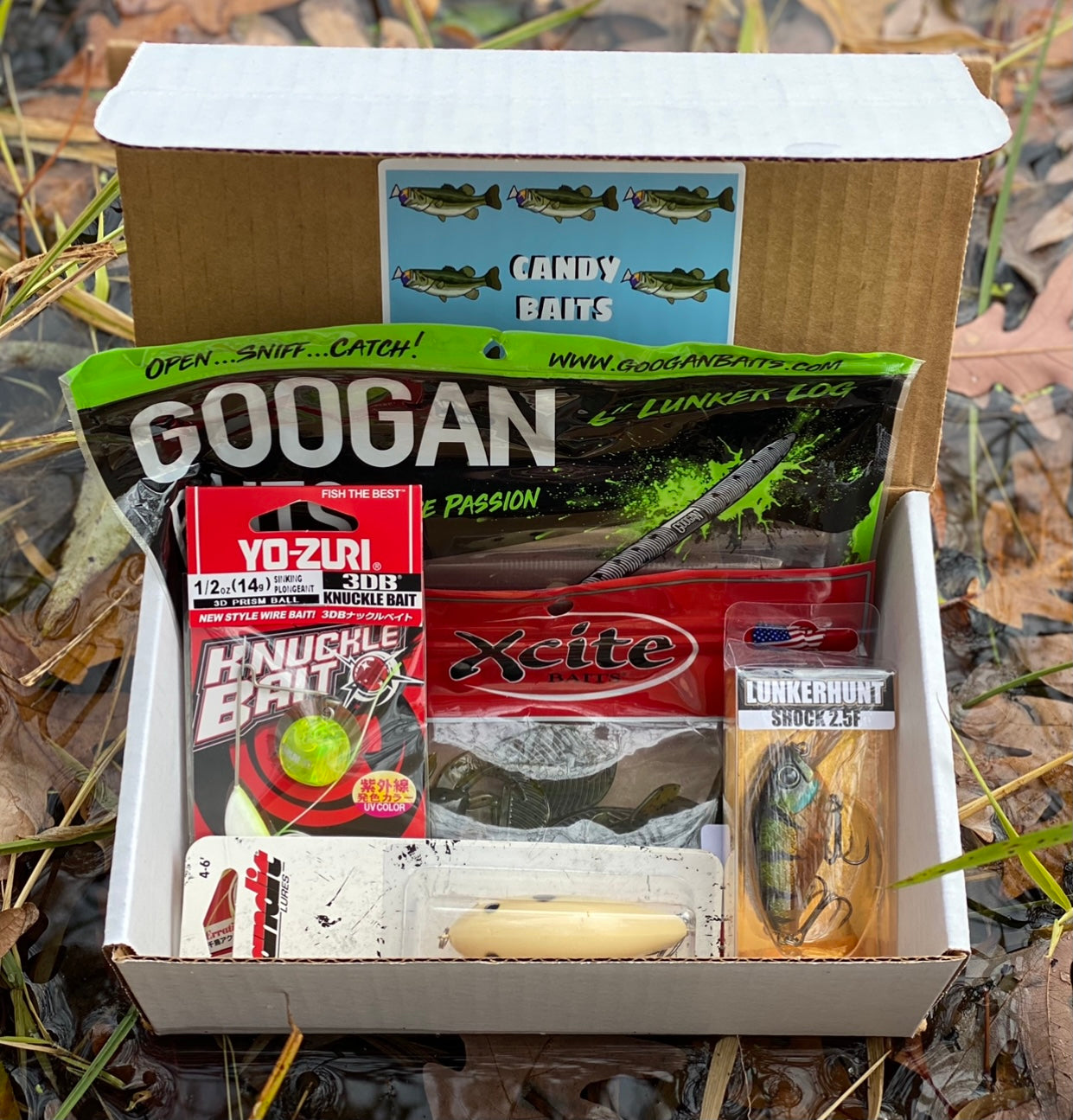 CANDY BAITS TACKLE BOX (BASS)