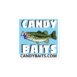 Open image in slideshow, CANDY BAITS LOGO STICKERS