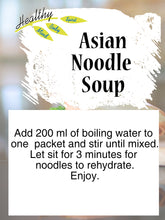 Load image into Gallery viewer, Asian Noodle Soup