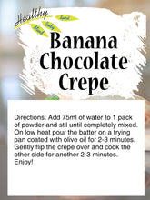 Load image into Gallery viewer, Banana Chocolate Crêpe