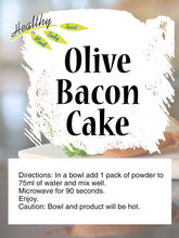 Load image into Gallery viewer, Olive Bacon Cake