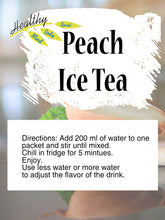 Load image into Gallery viewer, Peach Ice Tea