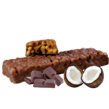 Load image into Gallery viewer, Chocolate Coconut Crisp Bar