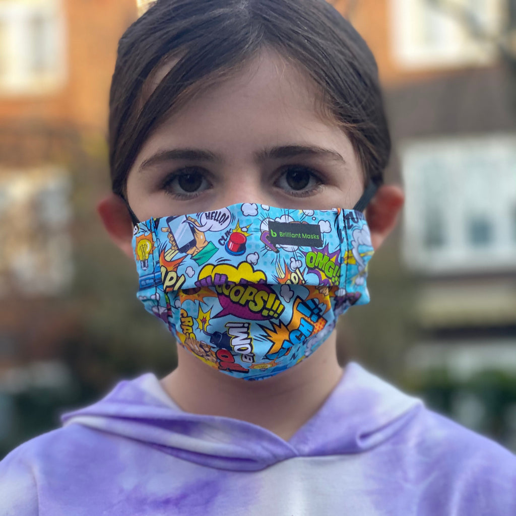 The Kids Cartoon Mask - Brilliant Masks