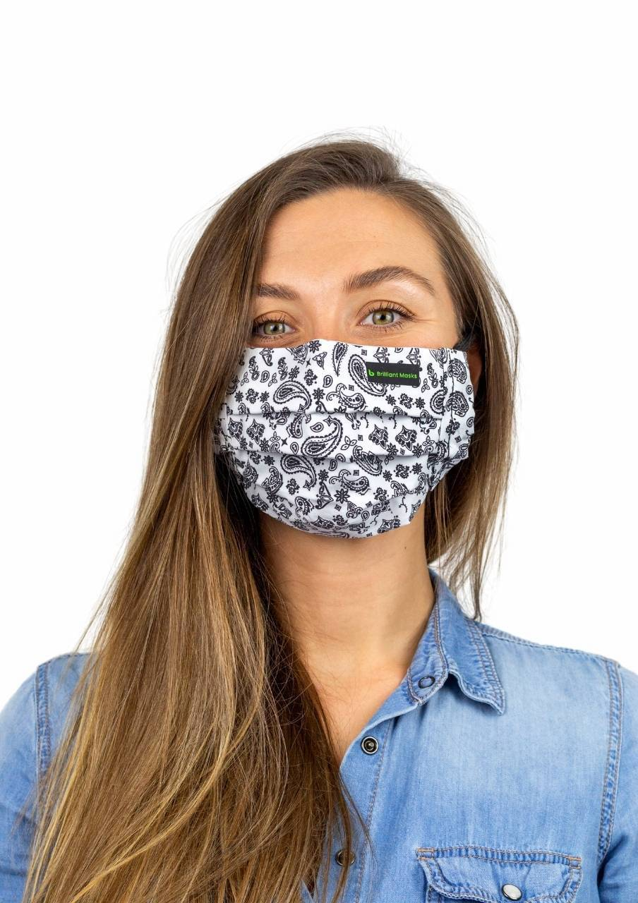 The Paisley Mask - Brilliant Masks