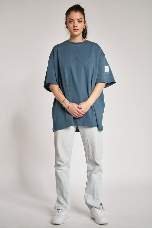 Oversized Shirt Blue