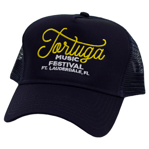 Navy Tortuga Trucker Hat