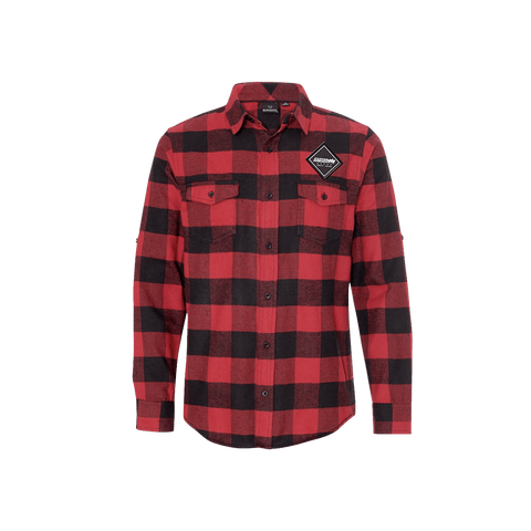 Flannel with FH Patch