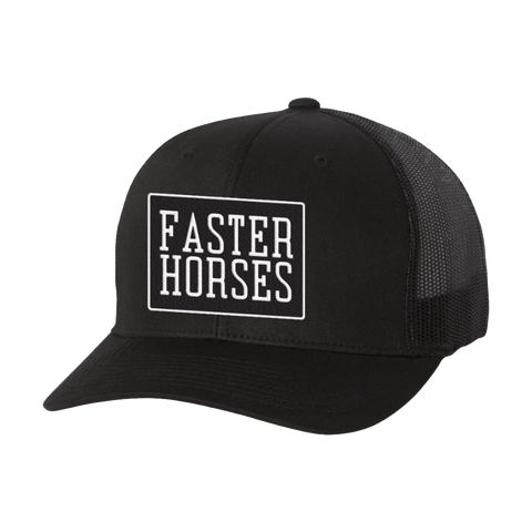 FH Black Trucker Hat