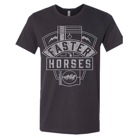 Faster Horses Engine Tee