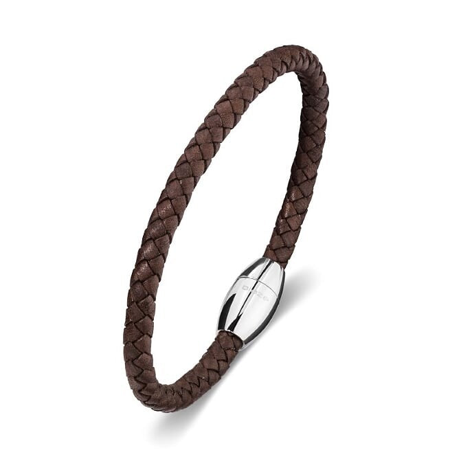 BLAZE BROWN LEATHER CUFF