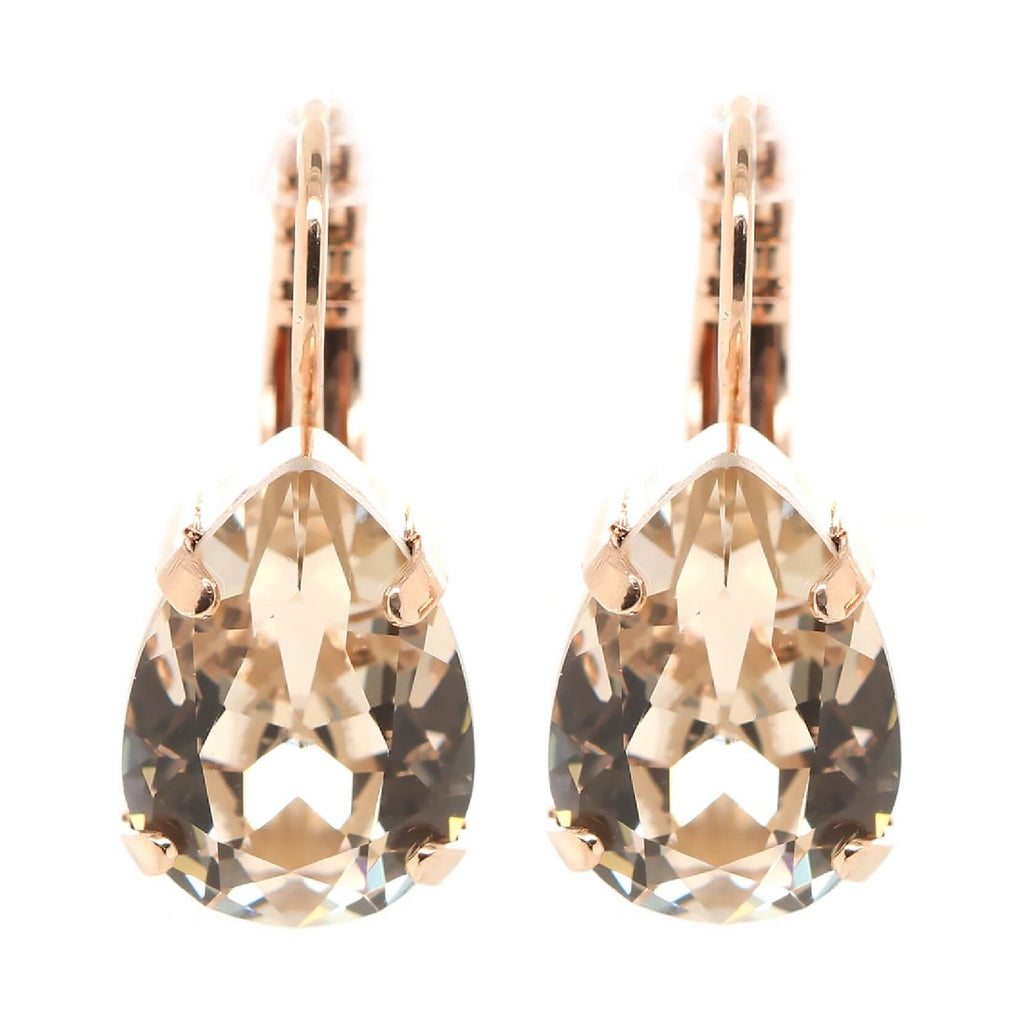 MARIANA LIGHT SILK CRYSTAL EARRINGS