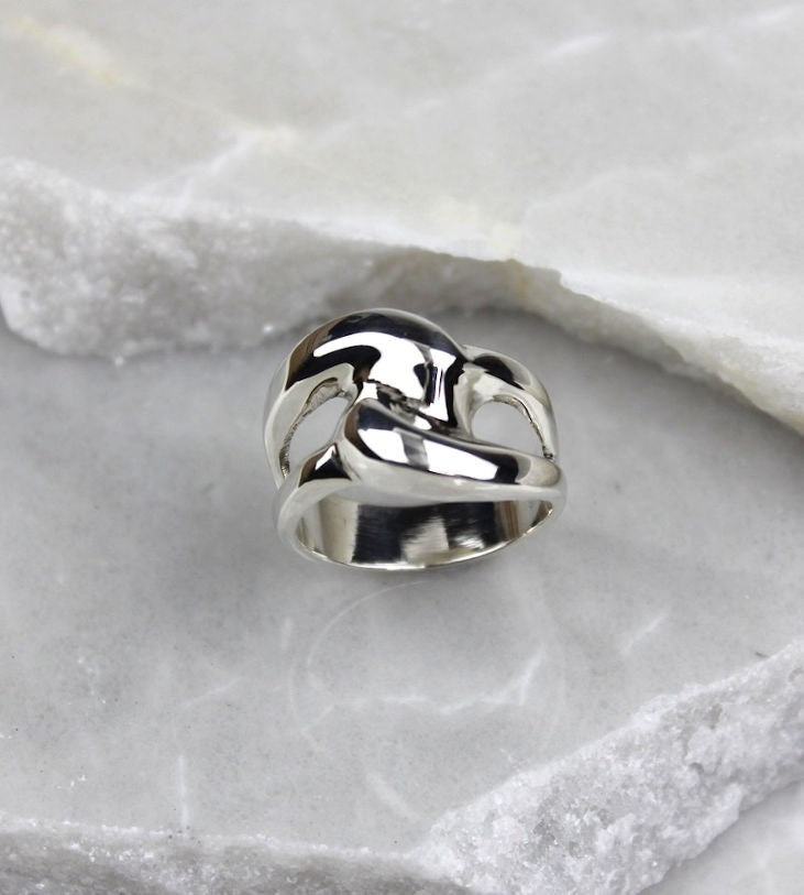 MEXICAN SILVER HAND MADE RING