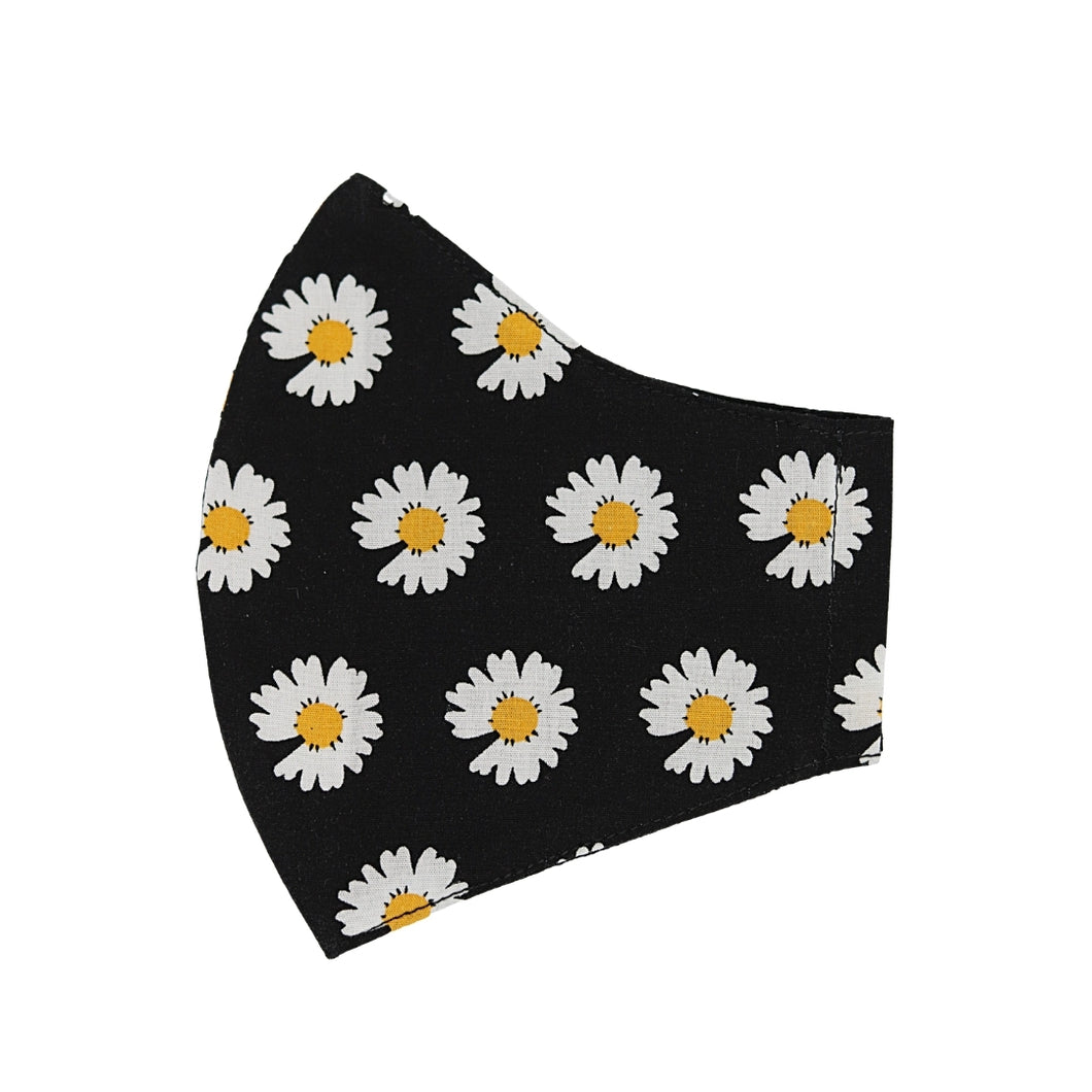Big Daisies Black