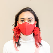 Load image into Gallery viewer, Christmas Red Mask *Also available in Black*