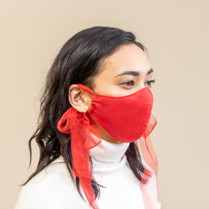 Christmas Red Mask *Also available in Black*