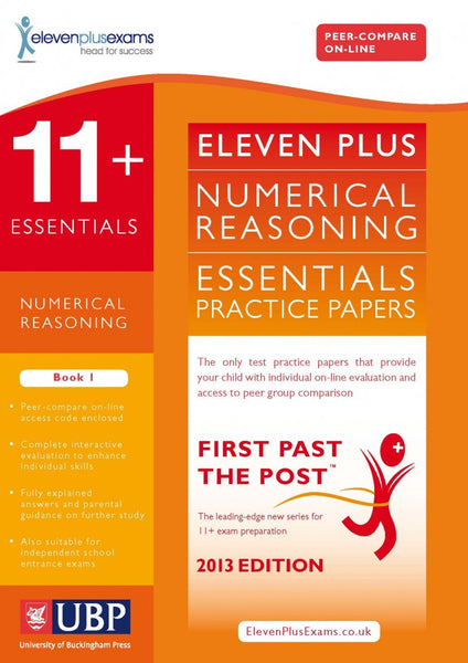 UBP 11+ Essentials Numerical Reasoning