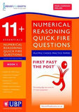 11+ Essentials  Numerical Reasoning - Quick Fire Questions