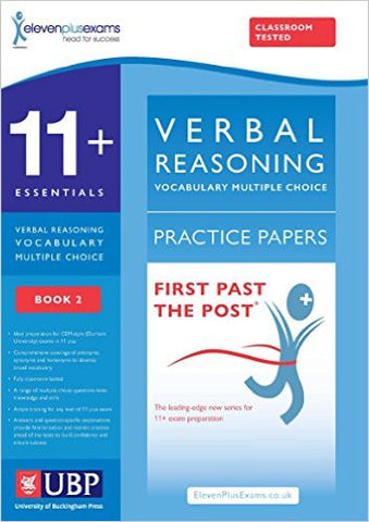 11+ Essentials Verbal Reasoning, Vocabulary