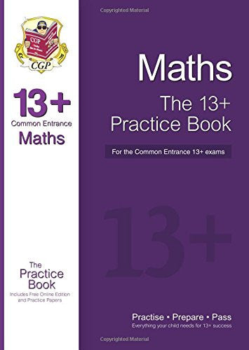 ISEB Maths 13+ Exam Practice Work Book