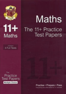 11+ Maths Practice Papers: Multiple Choice - Pack 1 (for GL & Other Test Providers)