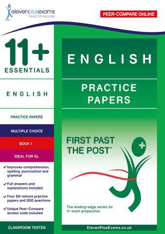 11+ Essentials English Practice Papers