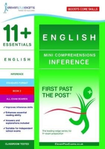 11+ Essentials English Mini Comprehensions: Inference