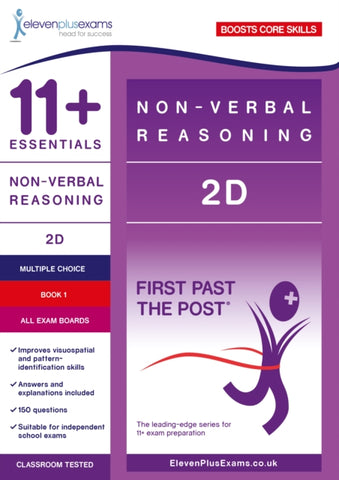 11+ Essentials Non Verbal Reasoning 2D