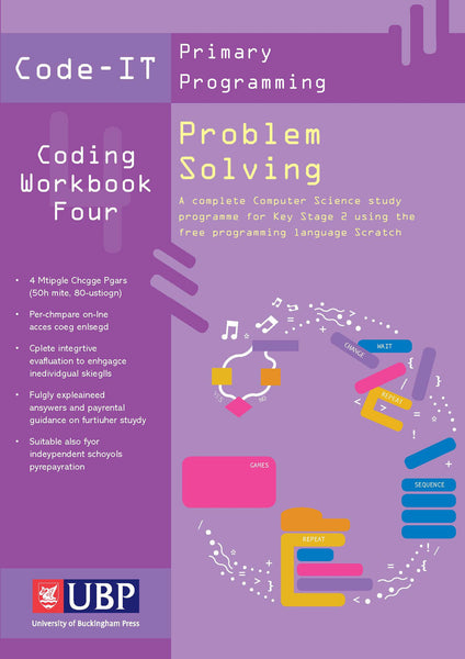 Code-IT Workbook 4: Problem Solving using Scratch