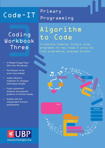 Code-IT Workbook 3: Algorithm to Code using Scratch