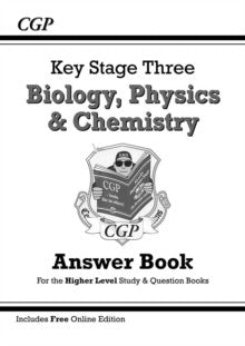KS3 Science Answers for Study & Question Books (Biology/Chemistry/Physics)