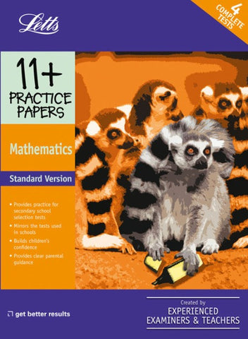 Standard Maths: Practice Test Papers