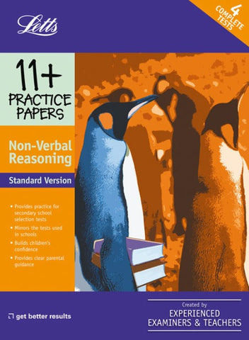 Standard Non-Verbal Reasoning: Practice Test Papers