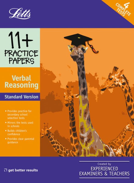 Standard Verbal Reasoning : Practice Test Papers