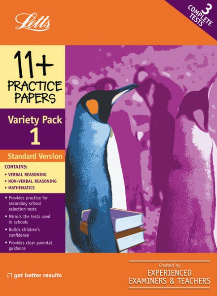 Standard Variety Pack 1 : Practice Test Papers