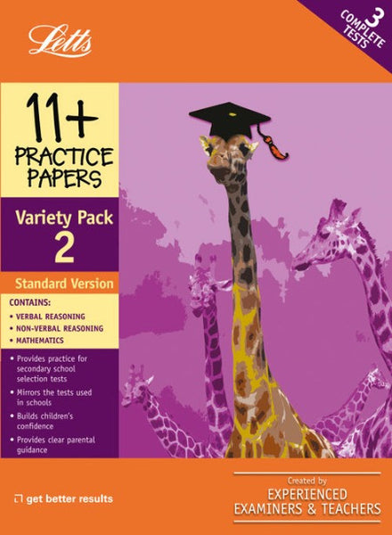 Standard Variety Pack 2 : Practice Test Papers