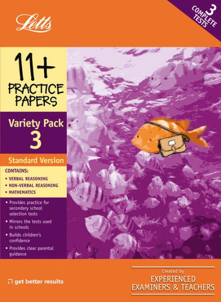 Standard Variety Pack 3 : Practice Test Papers