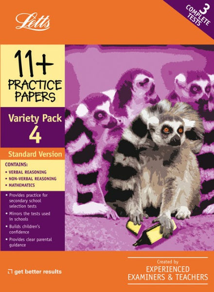 Standard Variety Pack 4 : Practice Test Papers