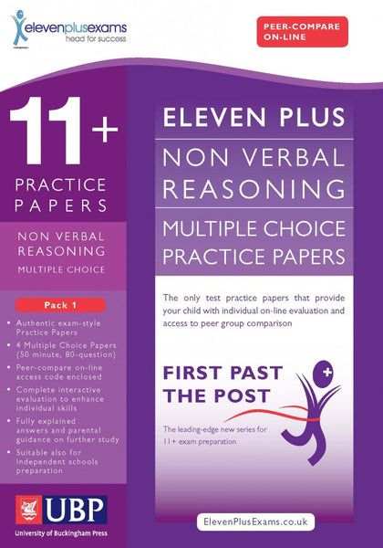 UBP 11+ Non-Verbal Reasoning Multiple Choice Practice Papers